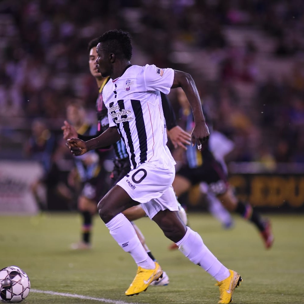 Former Medeama star Kwasi Donsu delighted to score debut goal for Colorado Switchbacks