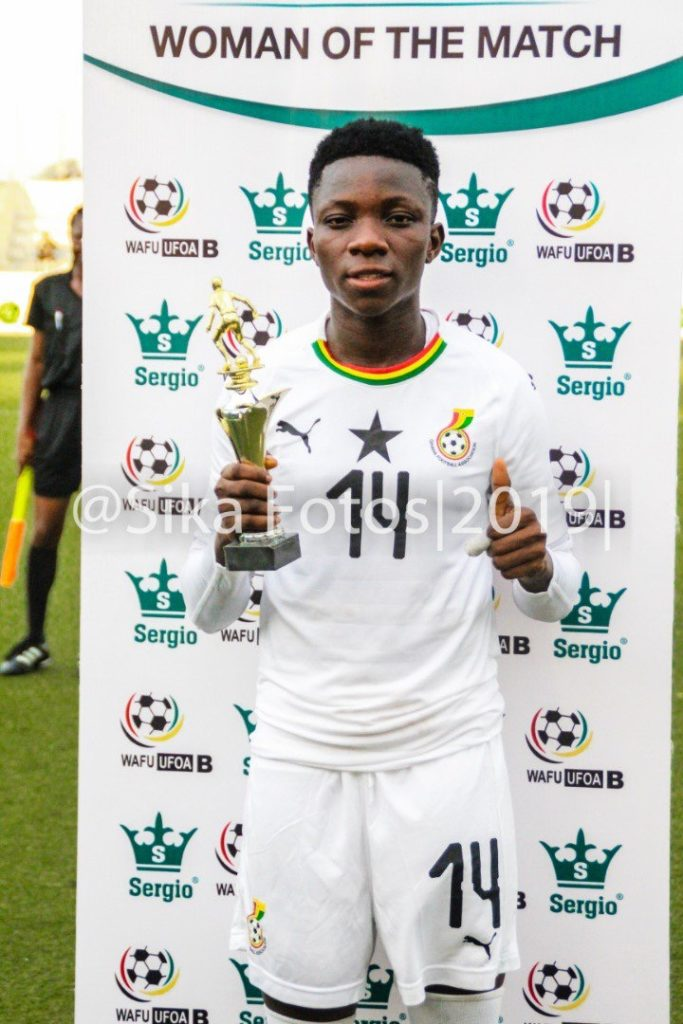WAFU Zone B Championship: Mavis Owusu named MVP in Ghana's thrashing of Togo