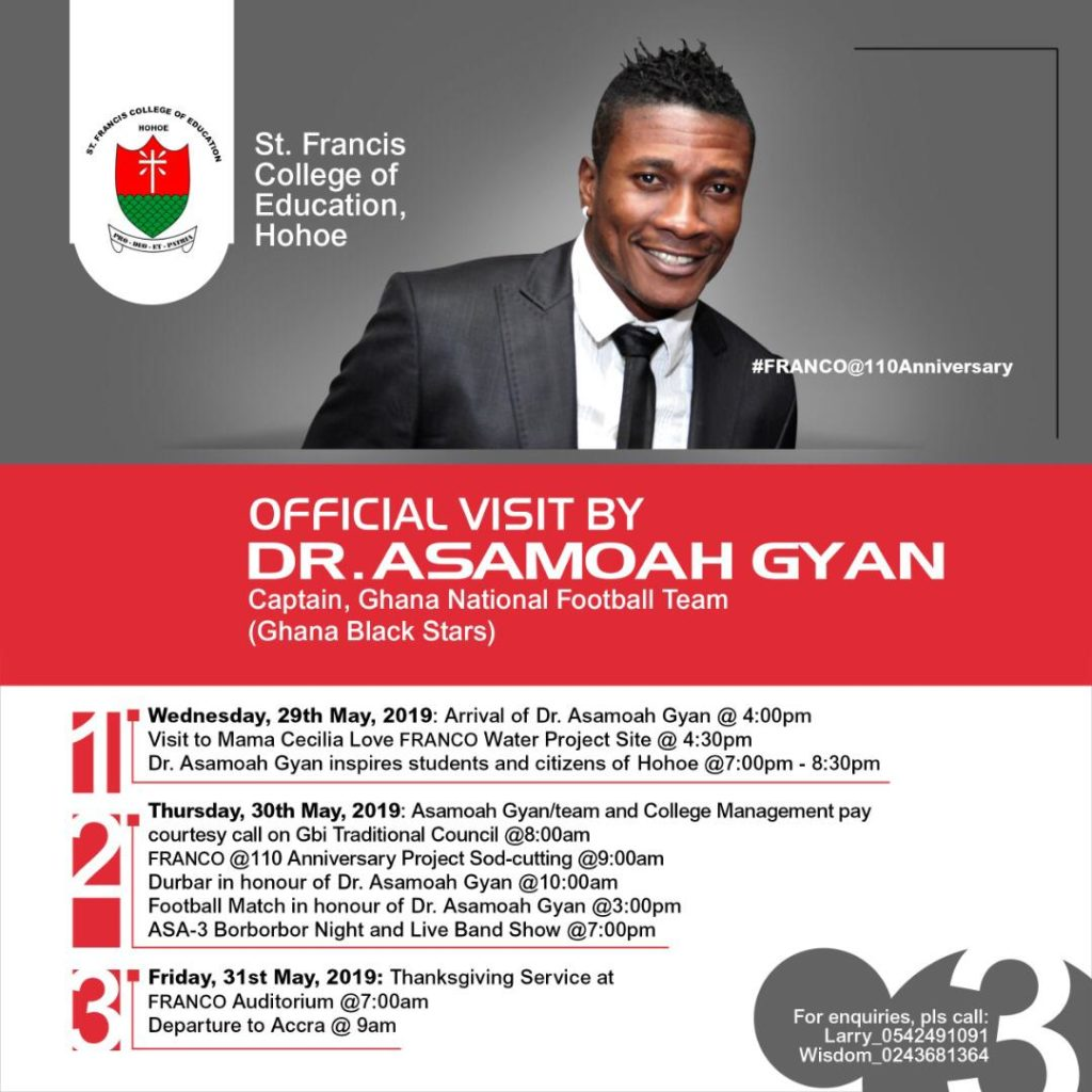 Asamoah Gyan to be enstooled chief by the Gbui traditional council