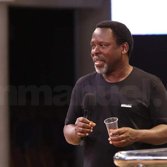 Prophet TB Joshua splashes GHC208,000 on 'impeccable' Emmanuel FC after Jordan Anagblah Cup triumph