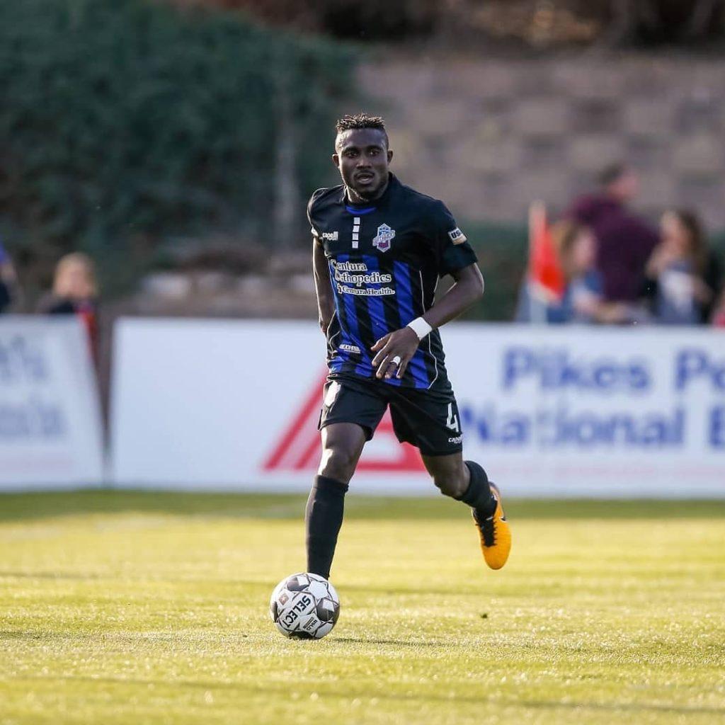 Towering Ghanaian defender Ibrahim Yaro impresses again as Colorado Switchbacks beat Denver in US Open Cup