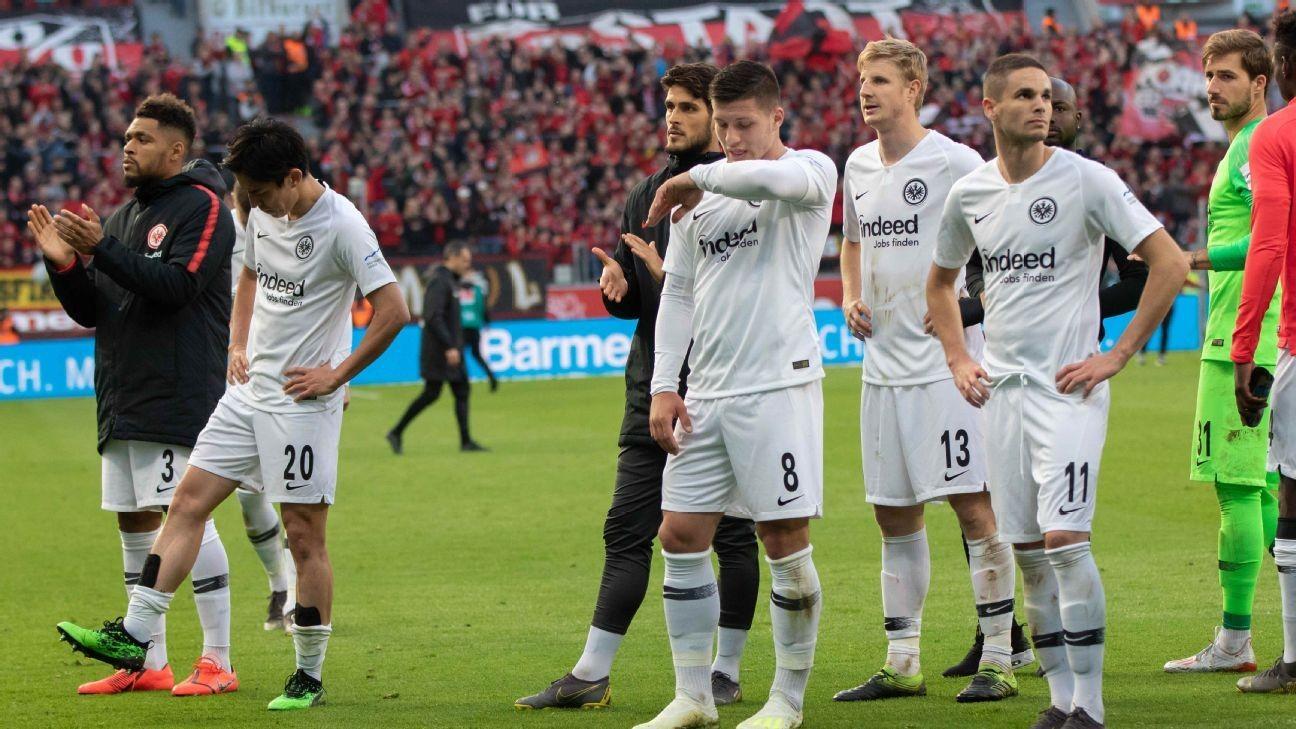 Eintracht hammered ahead of Europa League semifinal vs. Chelsea
