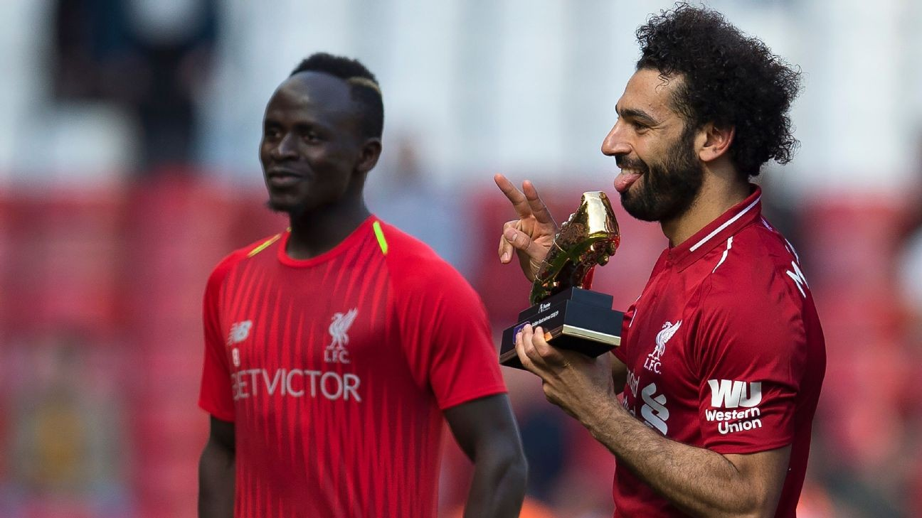 African history as trio Mane, Salah and Aubameyang share EPL Golden Boot award