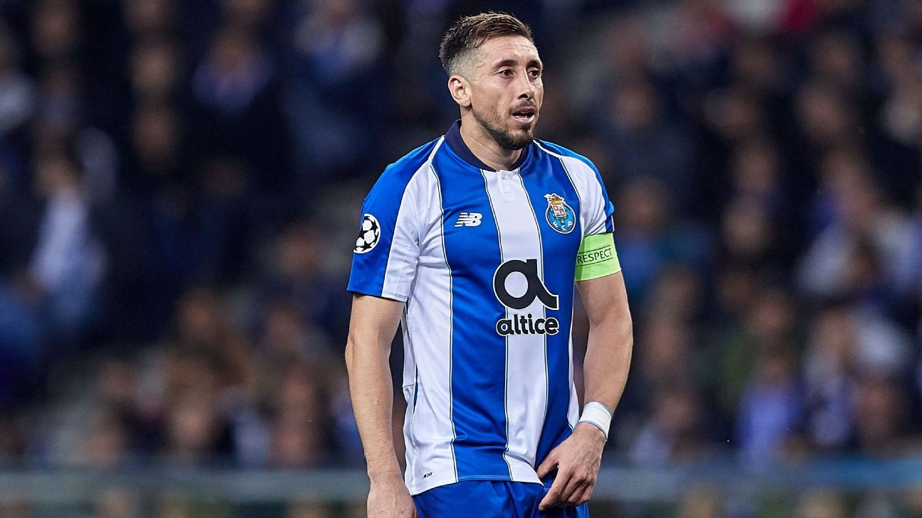 Atletico to sign Herrera as well as Porto teammates Felipe, Telles - source
