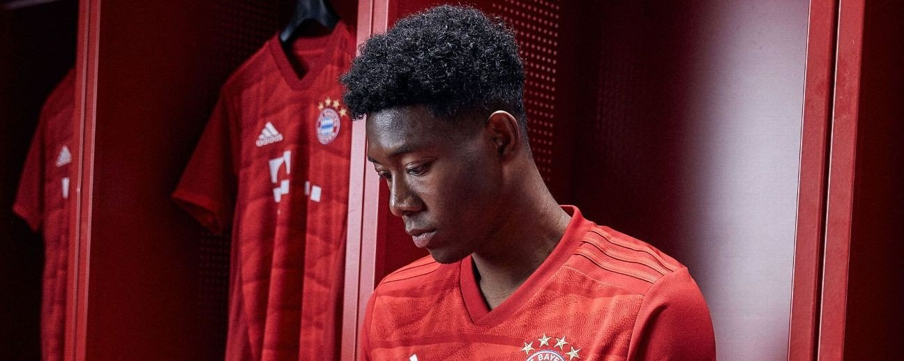Bayern Munich new shirt is red again but has an Allianz feel