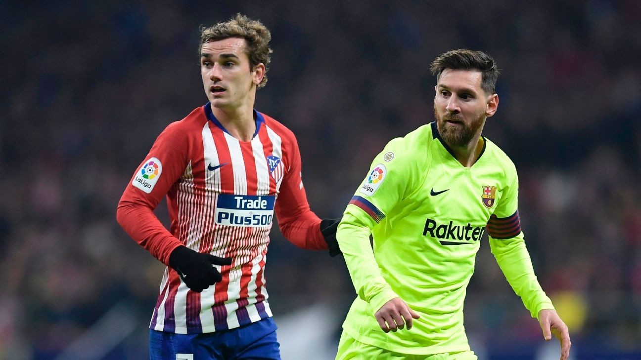 Griezmann can pick his club but Barcelona have Messi as bait
