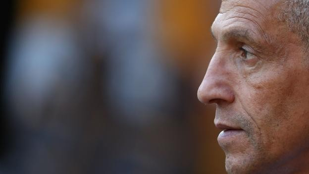 Chris Hughton: Kick It Out apologise to Brighton