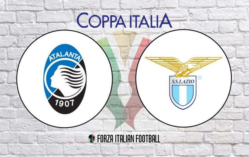 Atalanta v Lazio – Official Coppa Italia Final Line-Ups