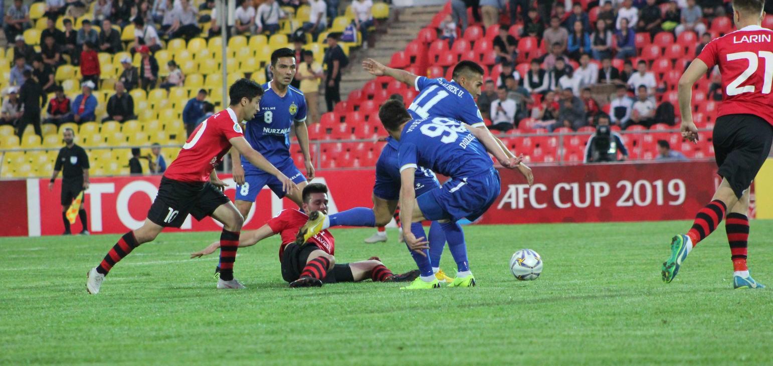 Group D: Dordoi FC 2-1 FC Istiklol