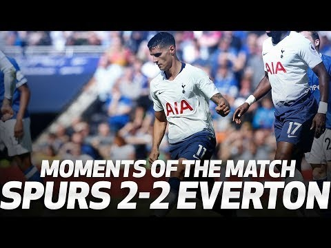 LUCAS, LAMELA AND LLORENTE | MOMENTS OF THE MATCH | Spurs 2-2 Everton