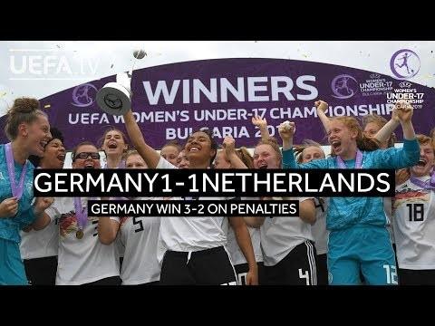 #WU17 Final Highlights: Netherlands 1-1 Germany (2-3 on pens)