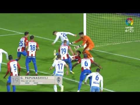 Resumen de Real Zaragoza vs Real Sporting (4-2)
