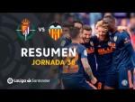 Resumen de Real Valladolid vs Valencia CF (0-2)