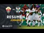Resumen de Elche CF vs CD Tenerife (3-0)
