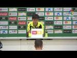 Rueda de prensa de Pacheta tras el Elche CF vs CD Tenerife (3-0)