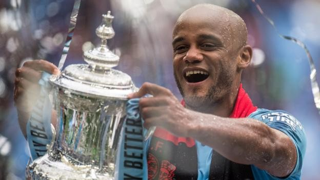 Ex-Man City captain Vincent Kompany to coach Ghanaian quartet at Anderlecht