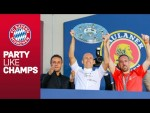 FC Bayern Championship Party and Emotional Speeches for Ribéry, Robben and Rafinha