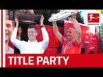 Ribery, Robben, Lewandowski & Co. Dance Into The Night - Bayern's Club Title Celebrations