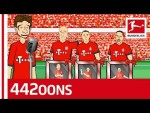 FC Bayern München vs. Eintracht Frankfurt | 5-1 | The Masterpiece  - Highlights Powered By 442oons