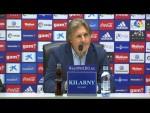 Rueda de prensa de Sergio Egea tras el Real Oviedo vs CD Numancia (1-0)