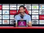 Rueda de prensa de Vicente Moreno tras el RCD Mallorca vs UD Almería (1-0)