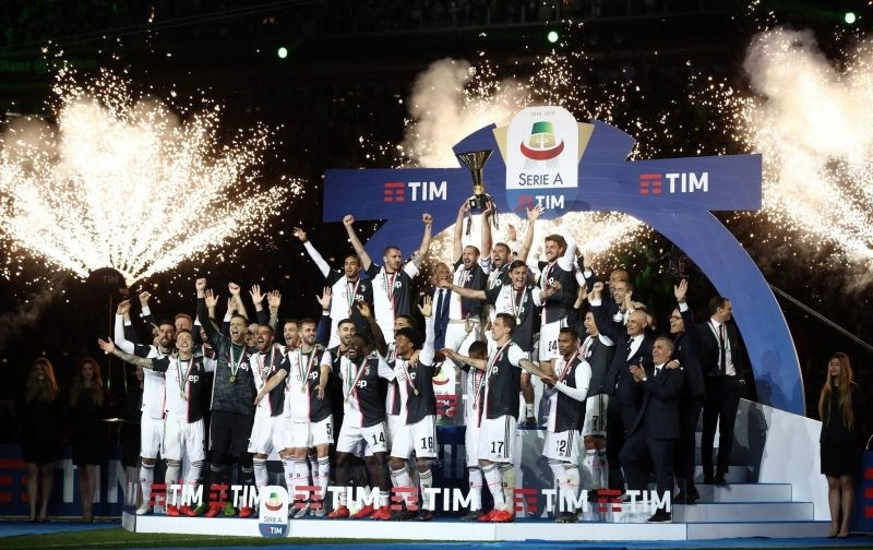 IN PICTURES: Juventus celebrate eighth consecutive Scudetto