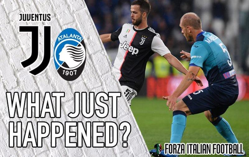 VIDEO: Juventus 1-1 Atalanta – Magical Masiello owns the Allianz