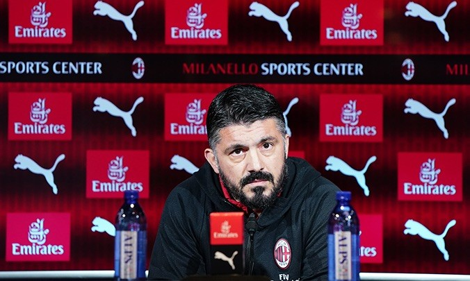 Gattuso says journalist is deaf after repetitive questions