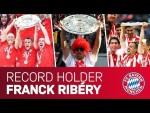 Franck Ribéry - ALL Bundesliga Trophy Lifts for FC Bayern