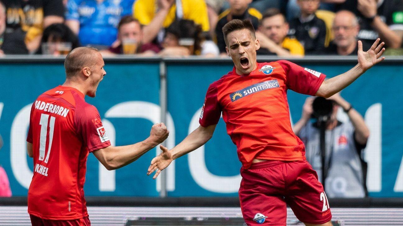 Paderborn seal fairytale promotion to Bundesliga