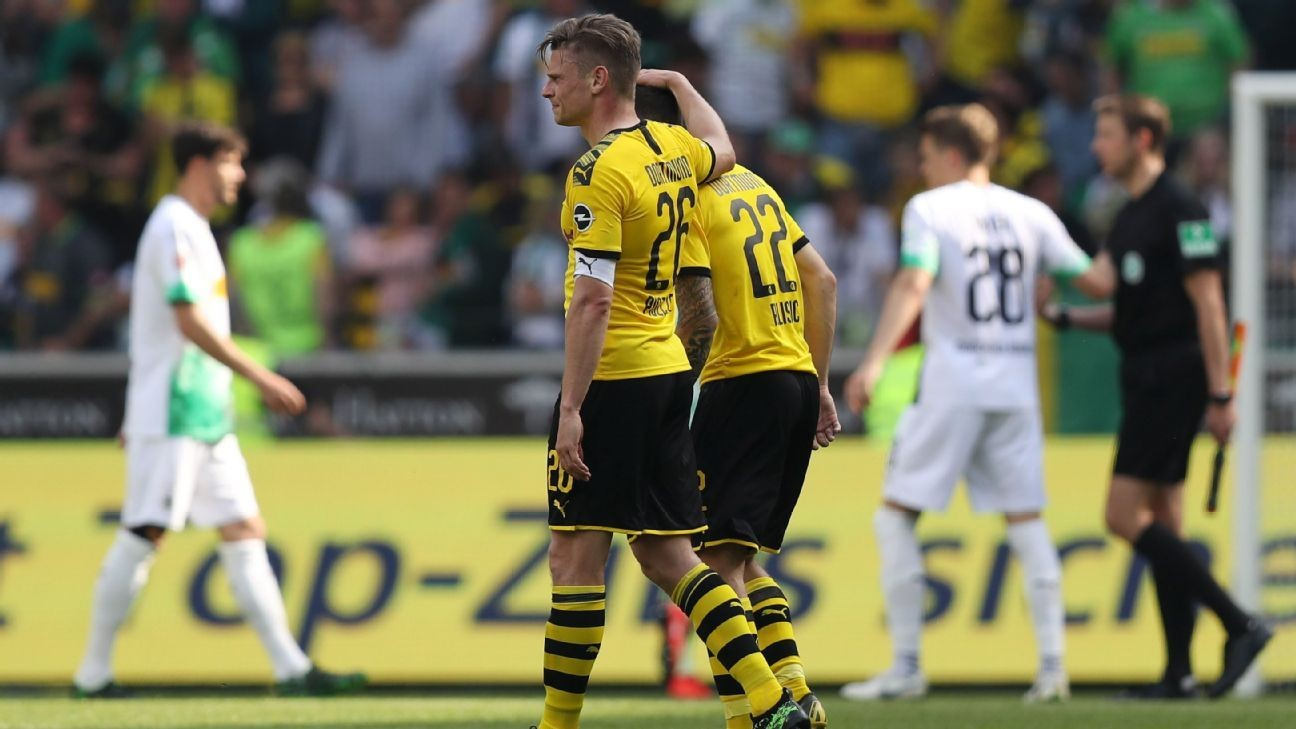 Dortmund win but finish second in Bundesliga