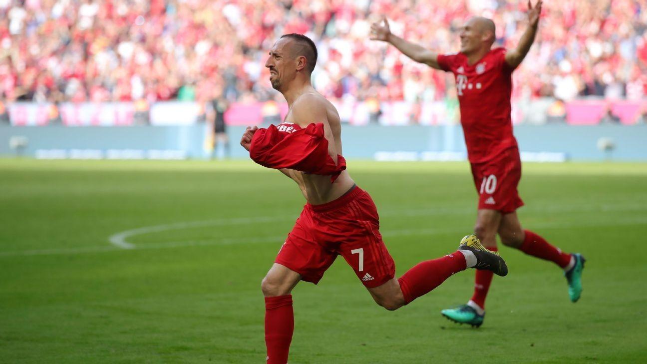 Bayern thrash Frankfurt and beat BVB to title
