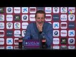 Rueda de prensa de Ramis tras el Albacete BP vs Granada CF (0-1)