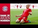 """Forever a Bavarian"" - Arjen Robben Bids Farewell to FC Bayern"