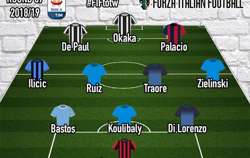 Serie A Team of the Week | Round 37