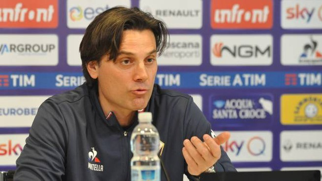 Fiorentina without Montella for relegation battle