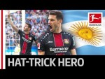 First Argentinian Hat-Trick Sends Leverkusen to Champions League