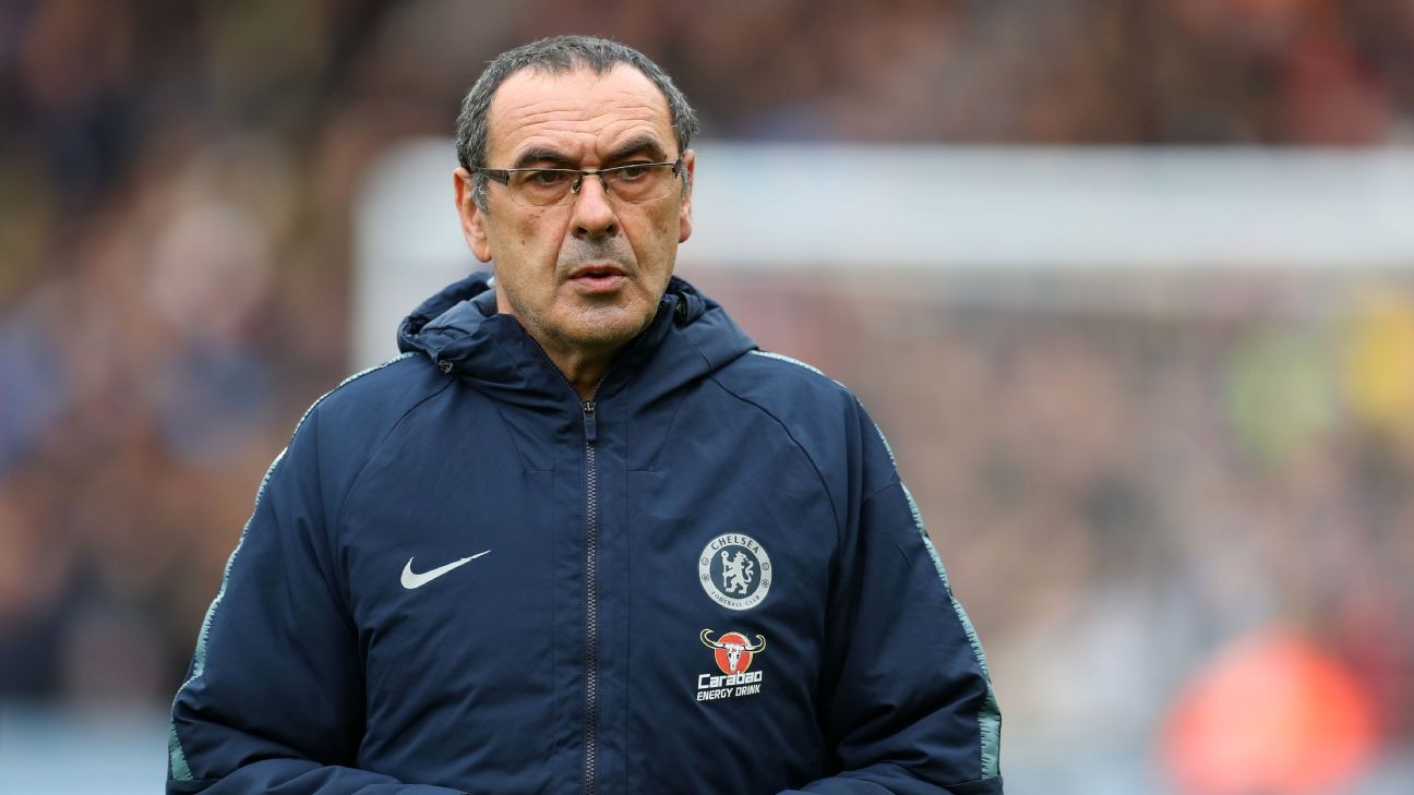 Sources: Chelsea won't axe Sarri, Juve to pay