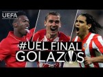 STURRIDGE, GRIEZMANN, FALCAO: Great #UEL Final GOALS!!