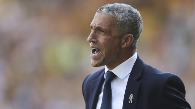 Ghanaian coach Chris Hughton surprised and disappointed at his Brighton sacking