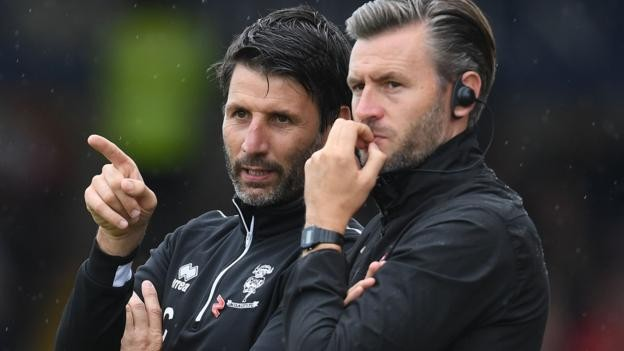 Danny and Nicky Cowley: Lincoln City deny reports of West Brom approach for duo