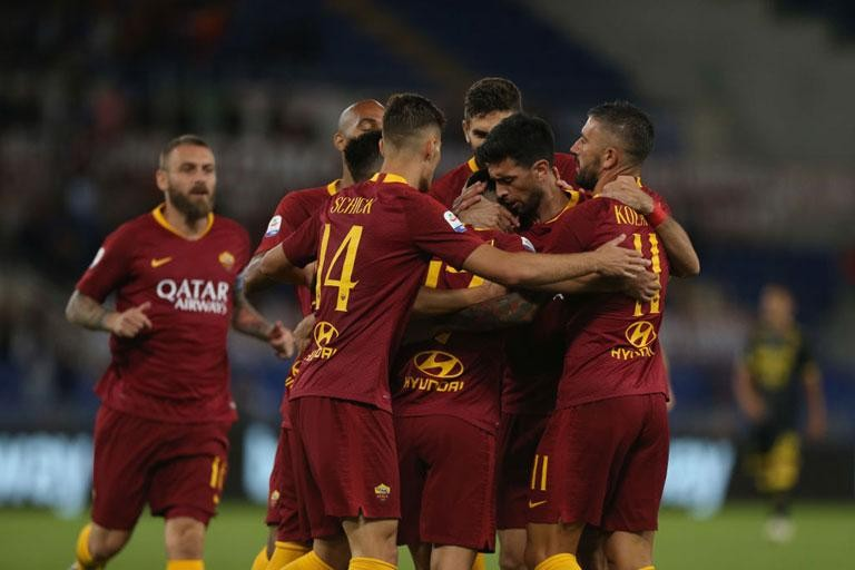 best sneakers 04443 e2f25 AS ROMA AND NIKE PRESENT NEW HOME KIT FOR 2019-20 SEASON ...