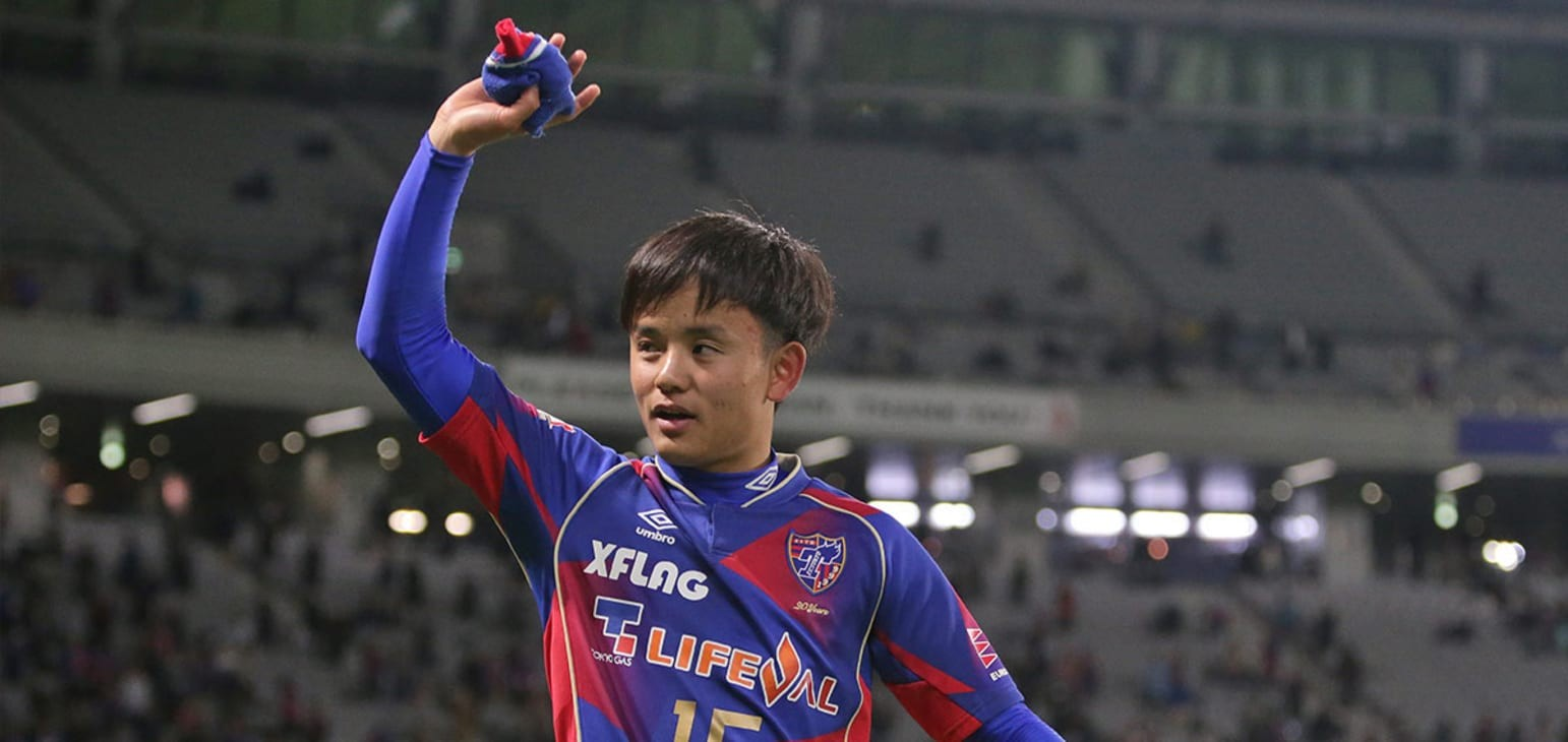 Takefusa Kubo earns first Japan call-up
