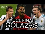 MANDŽUKIĆ, RONALDO, BALE: Great #UCL Final GOALS!!