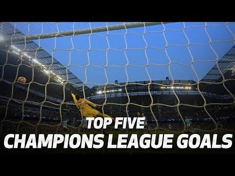 TOP 5 GOALS | TOTTENHAM HOTSPUR'S ROUTE TO THE CHAMPIONS LEAGUE FINAL