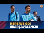 Trip to Sevilla ahead of the Copa del Rey final against Valencia