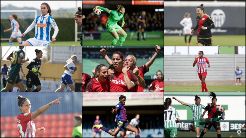 The Liga Iberdrola at the Women's World Cup