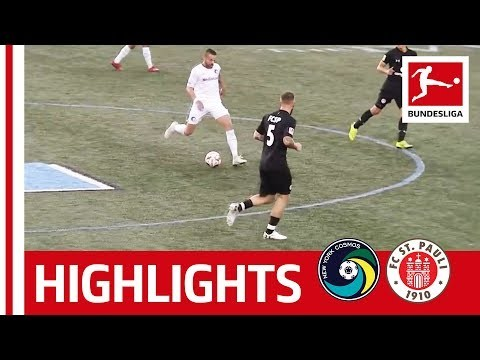 FC St. Pauli vs. New York Cosmos | Highlights | In The Footsteps Of Beckenbauer and Pele
