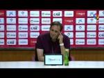 Rueda de prensa de Fran Fernández tras el UD Almería vs AD Alcorcón (0-0)