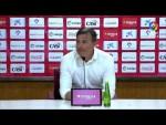 Rueda de prensa de Cristobal Parralo tras el UD Almería vs AD Alcorcón (0-0)